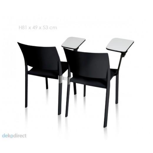 """Silla Fiona (con """"paleta"""" escritorio)"""
