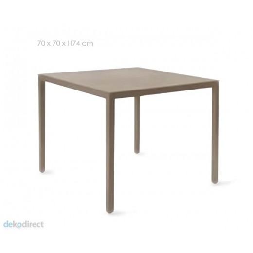 Mesa comedor-cocina cuadrada 70x70 Barcino