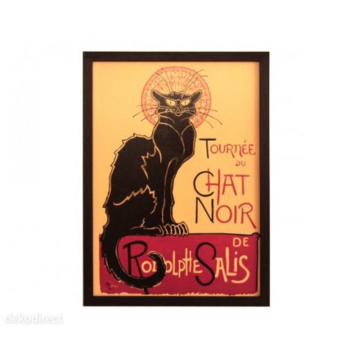"Cuadro ""Chat Noir"""