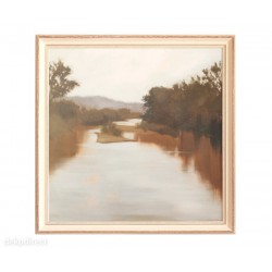 "Cuadro ""River"" M.Lightell"