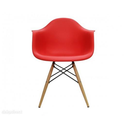 Sillón DAW Eames Rojo