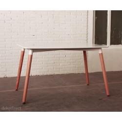 Mesa comedor blanca 120 cm Nurt