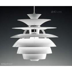 Lámpara Snow Ball Henningsen en aluminio