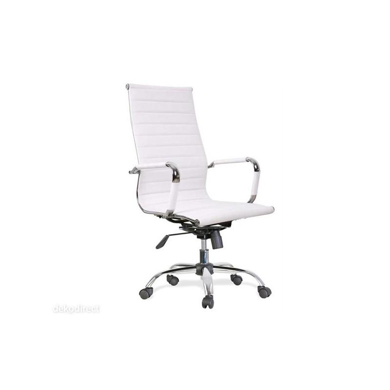 Silla oficina 119 b alta aluminium eames blanca for Silla oficina blanca