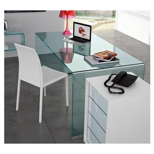 mesa escritorio cristal concord