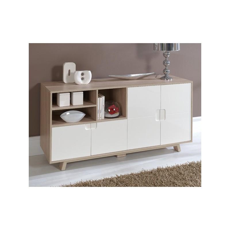 Aparador Na Sala ~ Aparador comedor salón en roble y blanco Calidad y diseño en Dekodirect