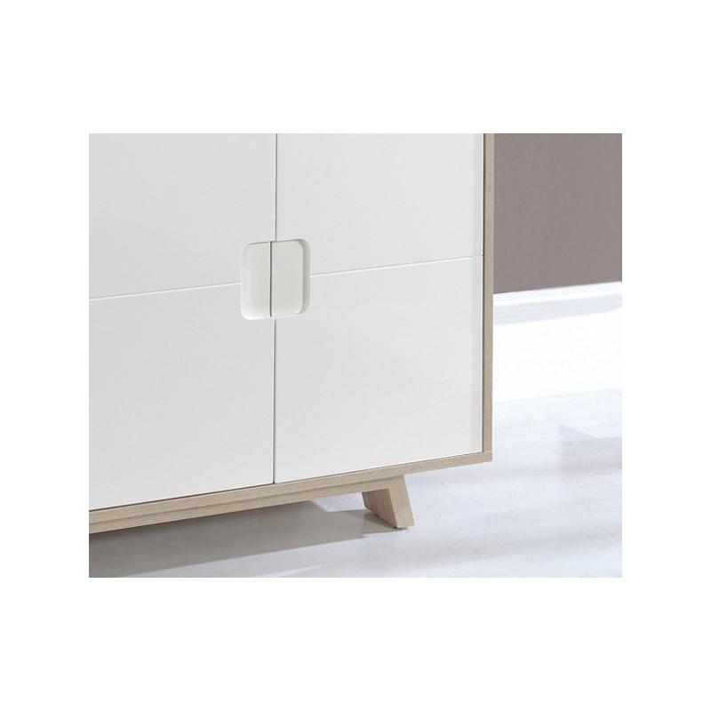 Adesivo Cabeceira Queen ~ Aparador comedor salón en roble y blanco Calidad y diseño en Dekodirect