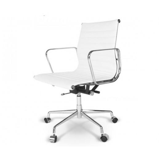 Silla sillón oficina Eames dirección color blanco