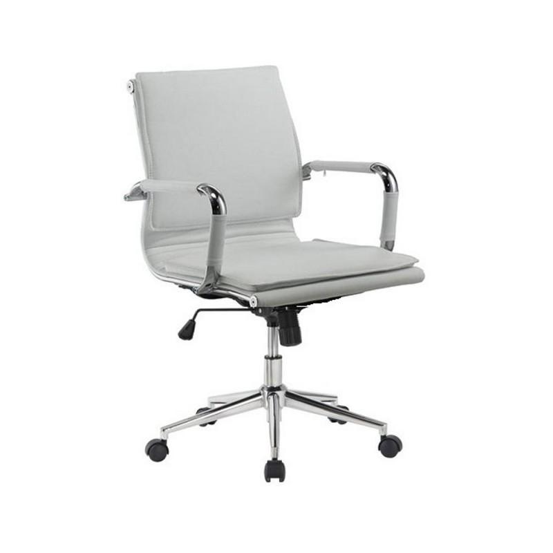 Silla oficina eames aluminium chair for Silla oficina blanca
