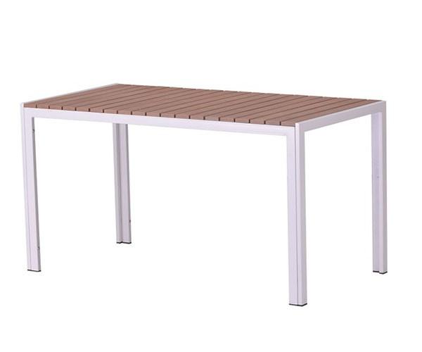 Mesa de jardín rectangular madera South beach